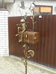 Николай Михеев - metal art mailbox