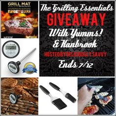 The Grilling Essentials Giveaway! - My Silly Little Gang