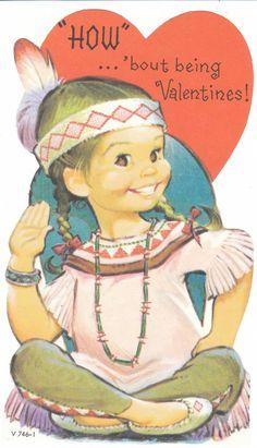 """""""How...about being valentine"""" # vintage valentine"""