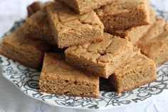 Ginger Chai Blondes are chewy and perfect with a cup of tea! {Brittany's Pantry}