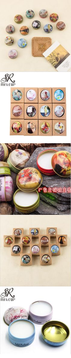 New 12 flavors hard perfumes and fragrances for women men scents water for men original male perfumes Solid Perfume Deodorant