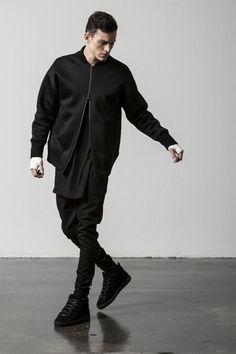 black layers men's style