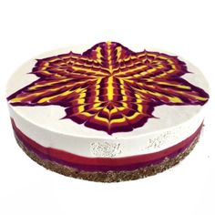 Raw Vegan Mandala Cakes By Chef Stephen McCarty