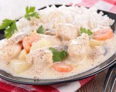 Blanquette de veau allégée : http://www.fourchette-et-bikini.fr/recettes/recettes-minceur/blanquette-de-veau-allegee.html