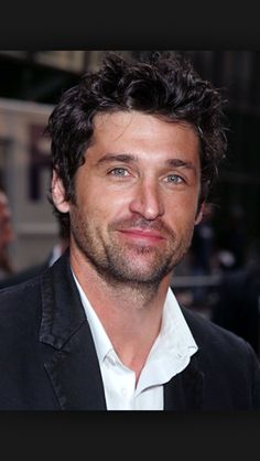 Holy smokes Patrick Dempsey is attractive.