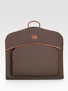 Travel in style with this Longchamp Boxford Hanging Garment Bag from Saks.com.