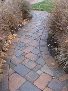 10 front walkways for maximum curb appeal | paver walkway, brick