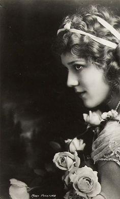 Mary Pickford 1892-1979 Silent Movie Star