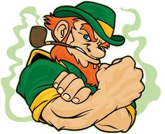 Irish Culture & Customs of Ireland - Irish Traditions, Folklore, Recipes & History (website) Celtic Pride, Irish Pride, Irish Celtic, Celtic Fc, Leprechaun Tattoos, Irish Leprechaun, Notre Dame Leprechaun, Irish Symbols, Clover Tattoos