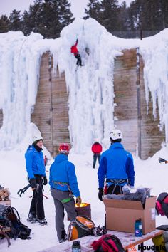 Winter Sports: Ice climbing in Jackson Hole, Wyoming. Jackson Hole Skiing, Jackson Hole Mountain Resort, Jackson Hole Wyoming, Dubois Wyoming, Ice Climbing, Ski And Snowboard, Winter Activities, Winter Sports, Holiday Destinations