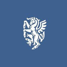 Pegasus logo idea design made by Veronika Žuvic . Great one this #logoplace #logo #place #love #design #graphic #graphicdesign #designer #pixel #creative #icon #creativity #flatdesign #adobe #illustrator #photoshop #branding #follow #photooftheday #picoftheday #horse #pegasus