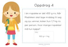 oppdrag: matematikk Mathematics, Children, Kids, Classroom, How To Plan, Education, Maths, Barn, Character