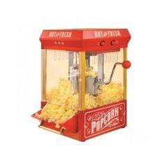 Kettle Popcorn Maker Popper Theatre Vintage Hot Oil Home Stainless Steel Antique #Nostalgia