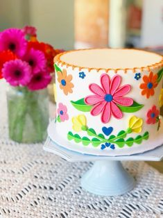 Mexican Fiesta birthday cake on Little Miss Momma. Mexican Fiesta birthday cake on Little Miss Momma. Mexican Birthday Parties, Mexican Fiesta Party, Fiesta Theme Party, Taco Party, Mexican Fiesta Decorations, Little Miss Momma, Party Cakes, First Birthdays, Cake Decorating