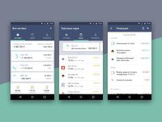 Broker's app by Kseniya Nazarova - Dribbble