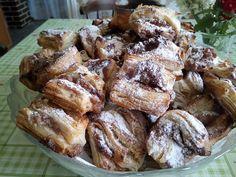 Hájas leveles sütemény, nagyon jó recept, gyönyörűen kinyílnak sütés közben! - Egyszerű Gyors Receptek French Toast, Food And Drink, Cookies, Breakfast, Cake, Foods, Recipes, Hungary, Crack Crackers