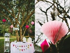 2014 Wedding Trends | Geometric Shapes | Geometric Wedding Inspiration | Geometric Hanging Shape Decor