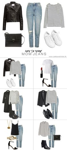 How to wear: mom jeans.