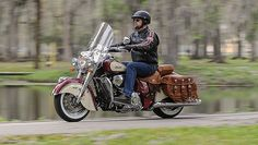2015 Two-Tone Paint: Indian Motorcycle Red and Ivory Cream
