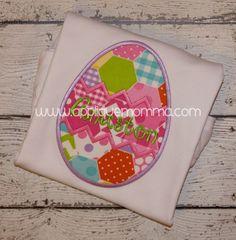 Easter Egg 2 Applique Design