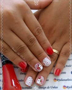 Unhas românticas passo a passo Beauty Room, Beauty Art, Blonde Beauty, Hair Beauty, Beauty Salon Logo, Fashion Videos, Beauty Hacks Video, Breakfast For Kids, Color Of Life