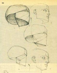 drawing a head gottfried bammes - Google zoeken