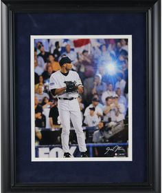 Mariano Rivera 2008 Yankees Pinstripe Jersey Pitching Vertical 8x10 Photo uns (Signed by Anthony Causi)