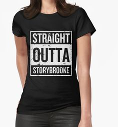 Straight Outta Storybrooke - White Words by eevylynn