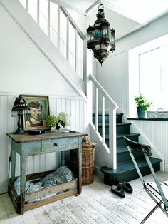 sfgirlbybay / bohemian modern style from a san francisco girl Halls, Decoration Entree, Painted Stairs, Painted Floors, Ivy House, Interior Photography, Interiores Design, My Dream Home, Home And Living