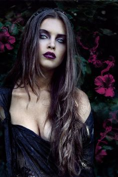 Simple #Goth girl beauty