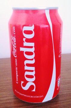 Comparte una Coca-Cola con Sandra.