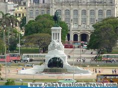 Monument to Gral Maximo Gomez, Old Havana. Havana