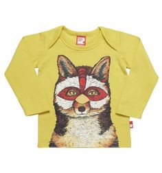 Masked Fox Long Sleeve Baby T-Shirt Rock Your Baby