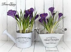 DIY: Turn Old Things Into Beautiful Flower Pots and Planters