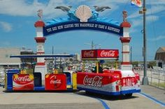 WILDWOOD - Be sure to take a ride on the tram car