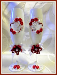 Hochzeitsgläser Sektgläser Hochzeit Hochzeitsgeschenk. in Sammeln & Seltenes, Saisonales & Feste, Hochzeit | eBay