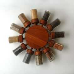 HAVE // Digsmed Spiral Spice Rack. $500.00, via Etsy. @Jason Stocks-Young Stocks-Young Brown wtf that sold price?!