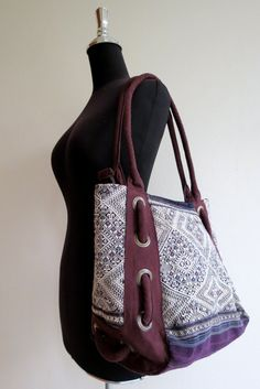 Ethnic Vintage Handmade bags  bohemian  beautiful silk stitching handbags and purses,