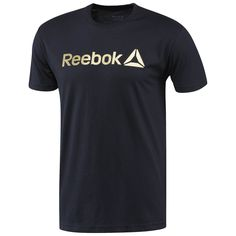 Consider this your new favorite no-fuss, casual attire. This classic silhouette is as great inside the gym as it is with a pair of jeans and kicks. A simple screen print Reebok graphic is sleek and simple for a subtle look.