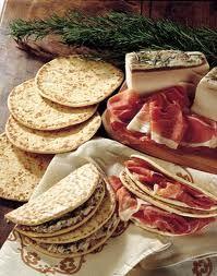 Italian food - Piadina romagnola