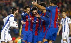 El Barça vuelve a ganar a la Real Sociedad y sella su billete a semifinales de la Copa