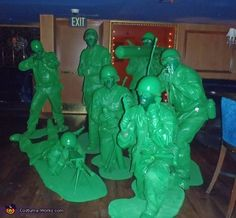 Green Army Men - 2014 Halloween Costume Contest via