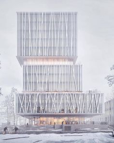 Competiton Proposal WeXo by @henninglarsenarchitects   Via @architecture_hunter @dna_studio   Tag #illustrarch to get feature   Follow @illustrarch ..#architecture #illustration #design