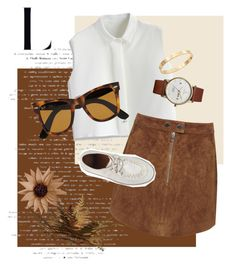 """Untitled #124"" by kidrauhleer on Polyvore featuring Chicwish, Miss Selfridge, Ray-Ban, Triwa and Cachet"