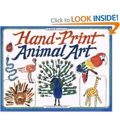 Hand-Print Animal Art (Williamson Kids Can! Series) by Carolyn Carreiro