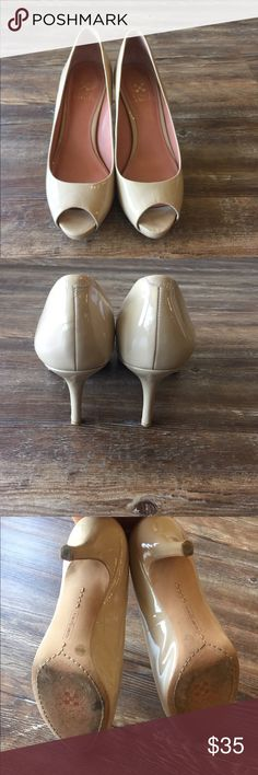 Selling this Women's Vince Camuto Nude Heels- Sz. 6 on Poshmark! My username is: reinspired. #shopmycloset #poshmark #fashion #shopping #style #forsale #Vince Camuto #Shoes