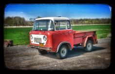 Stock 1959 Jeep FC-150.  Located in Western, NY.