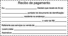 modelo de recibo de pagamento completo diversos pinterest avon