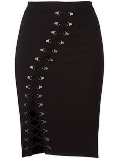 Shop Murmur 'Serpentine' skirt.