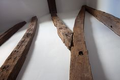 Detail of beams in the Cottage Suite at the Tudor Farmhouse Hotel, Clearwell.